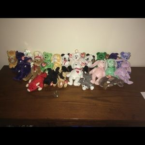 TY beanie Babies collection or lot
